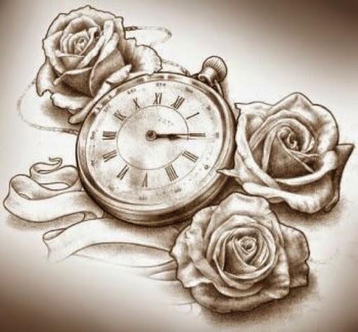 32+ Beautiful Clock Tattoos For Girls