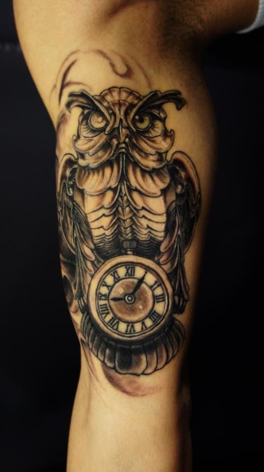 40 Best Clock Tattoos Ideas