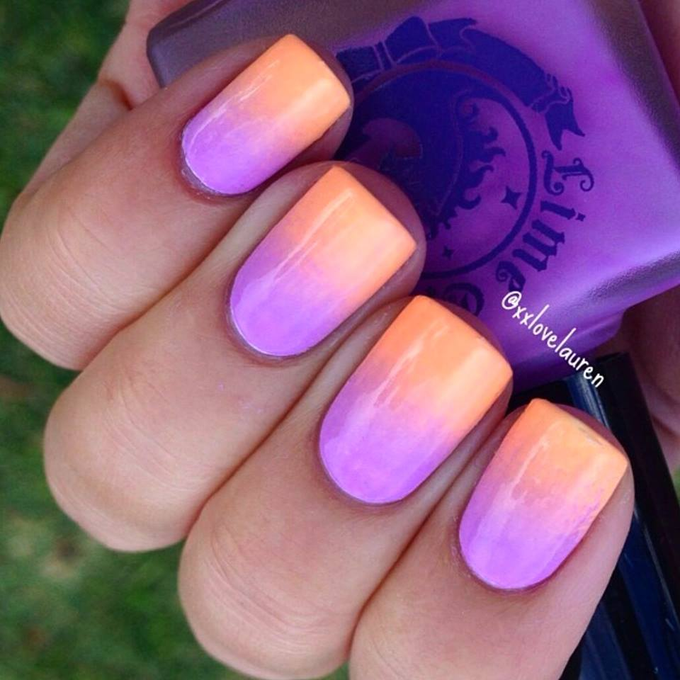 Ombre Nail Art: 50 Most Beautiful Ombre Nail Art Design Ideas For Girls