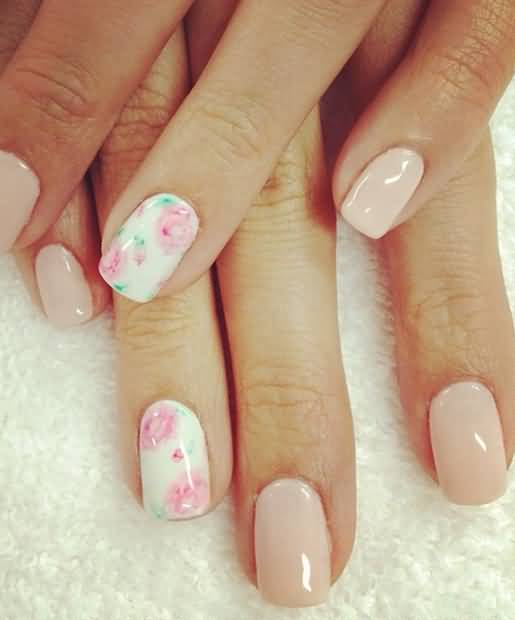 50 Most Beautiful Accent Nail Art Design Ideas For Girls