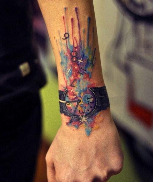 clock tattoo 20