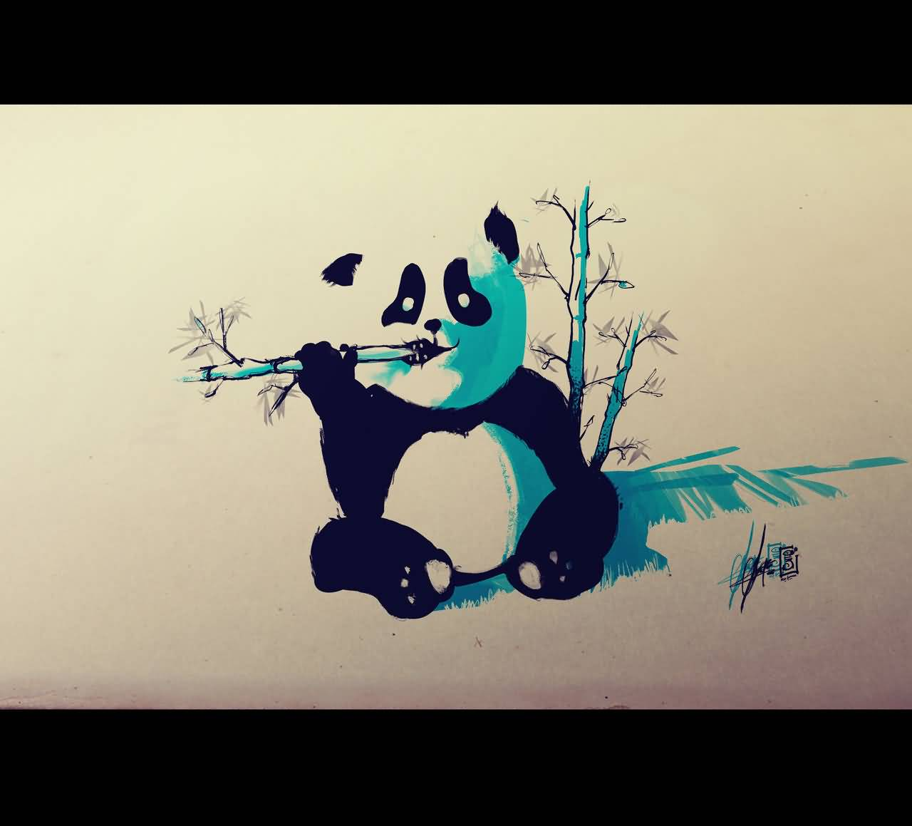 32 Panda Tattoo Designs
