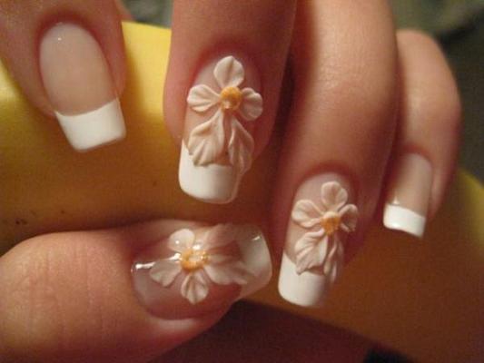 51 very beautiful 3d flowers nail art designs adorable 3d flowers nail art design prinsesfo Gallery