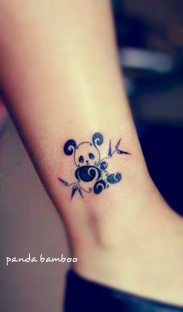 Small Tattoo Size: 74+ Wonderful Panda Tattoos