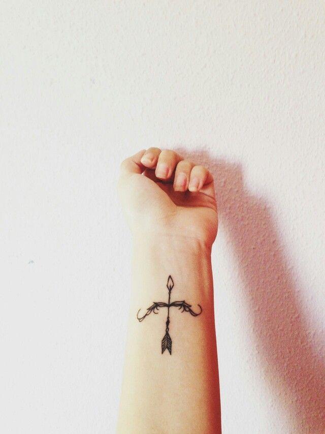 73 Bow And Arrow Tattoos Ideas
