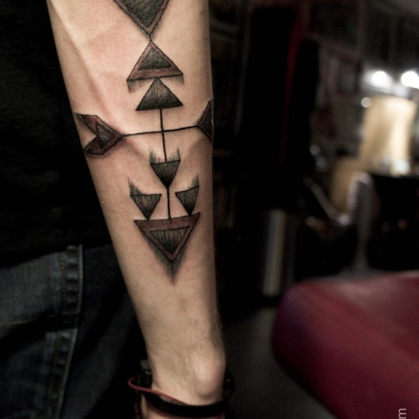 50 Latest Arrow Forearm Tattoos