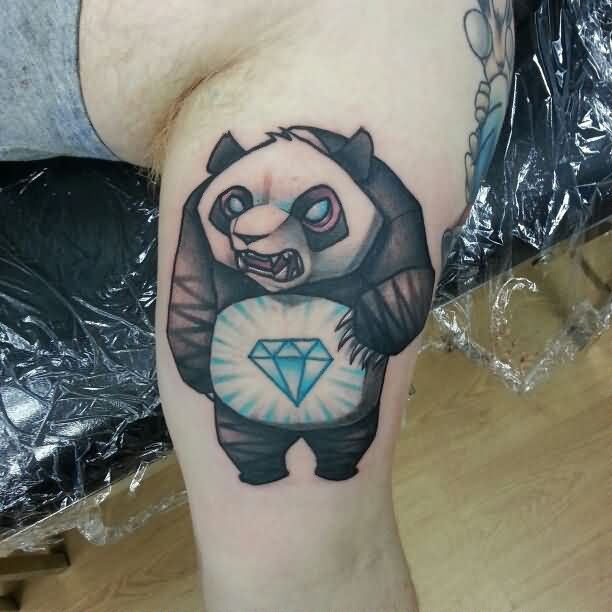 Tattoos House Hd Tattoos Designs Collection For Both Men: 14+ Panda Tattoos Ideas For Legs
