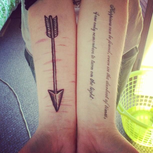 55+ Incredible Arrow Tattoos