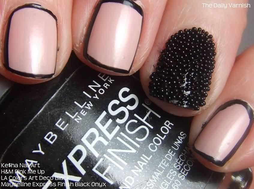 50+ Most Beautiful Caviar Nail Art Design Ideas For Trendy Girls