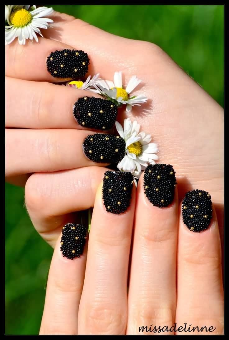 Black Caviar Nails 50+ Most Beautiful Cav...
