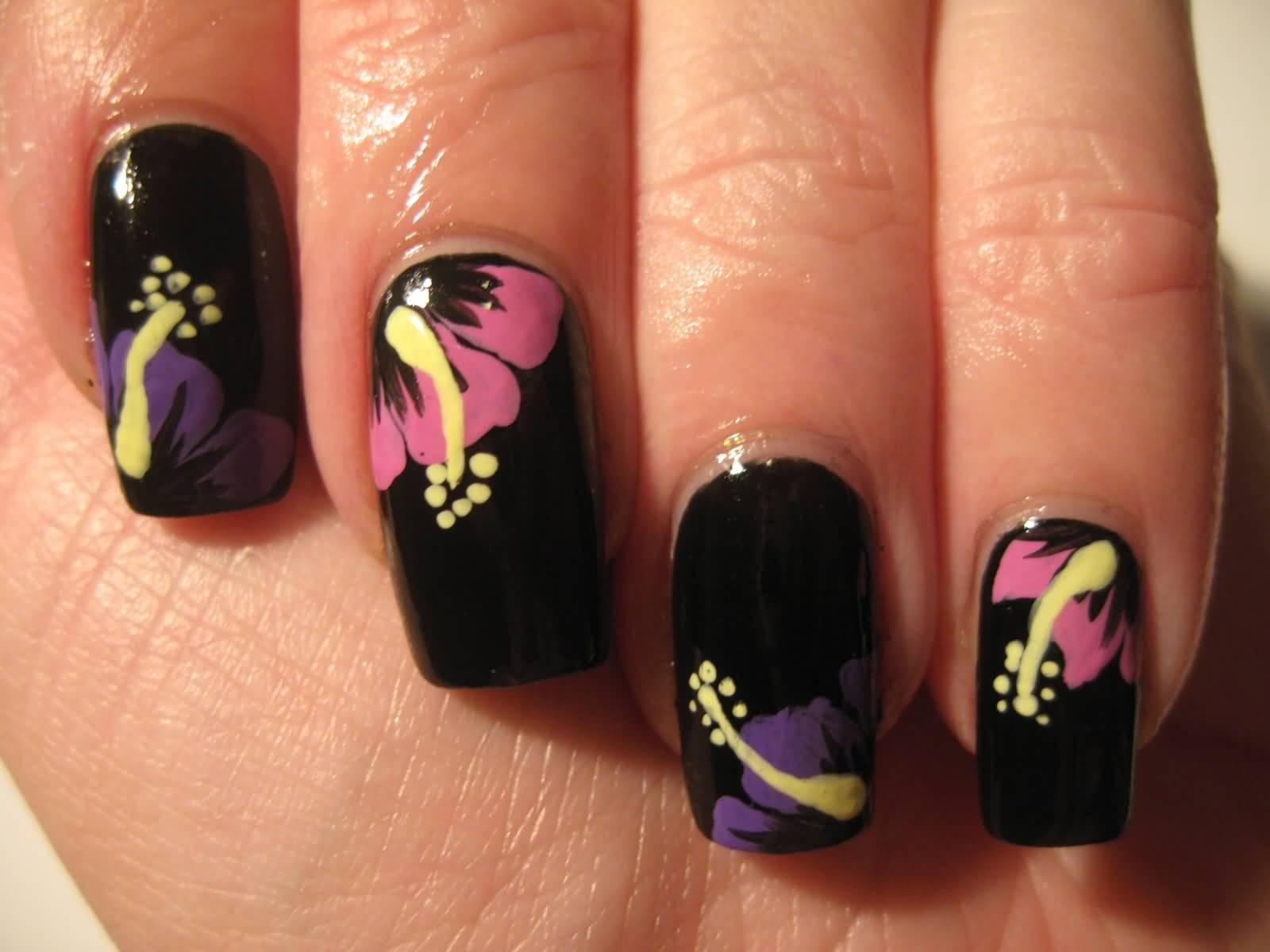 most beautiful flowers nail art design ideas flower nail art designs gallery