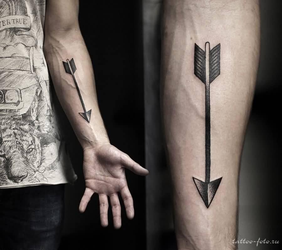 0c71009ae Breathtaking Arrow Tattoo On Forearm For Men
