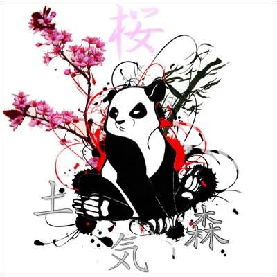 32 Panda Tattoo Designs