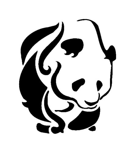 Tribal Panda 29 Tattoo Designs And Pictures