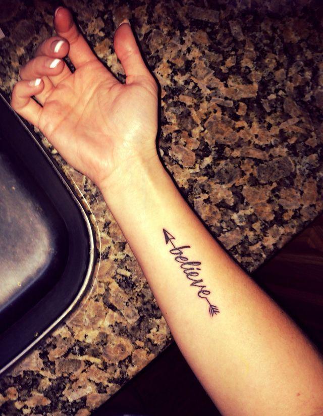 48 Arrow Tattoos On Arm