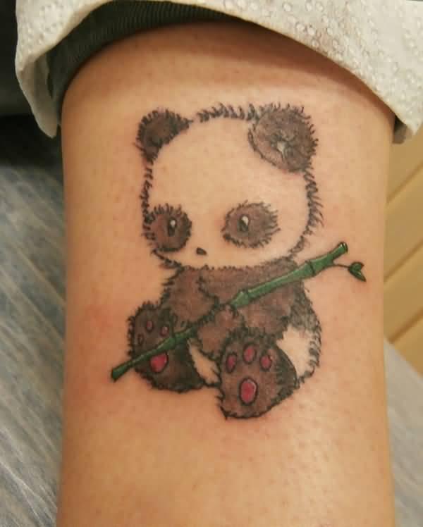 88 panda sleeve tattoos for Baby panda tattoo