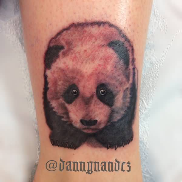 74+ Wonderful Panda Tattoos - photo#42