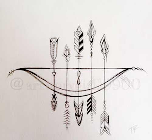 45 Arrow Tattoo Designs