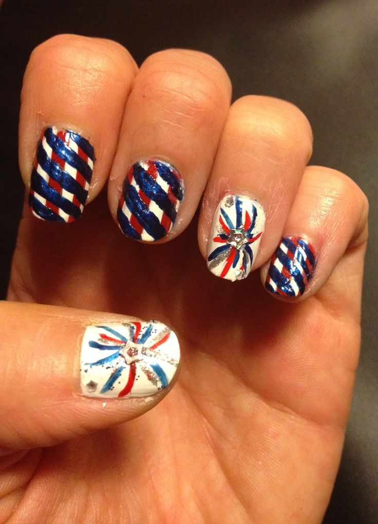 Toe nail art for fourth of july best image nail 2017 4th of july toe nail art ideas great photo about manicure 2017 prinsesfo Image collections