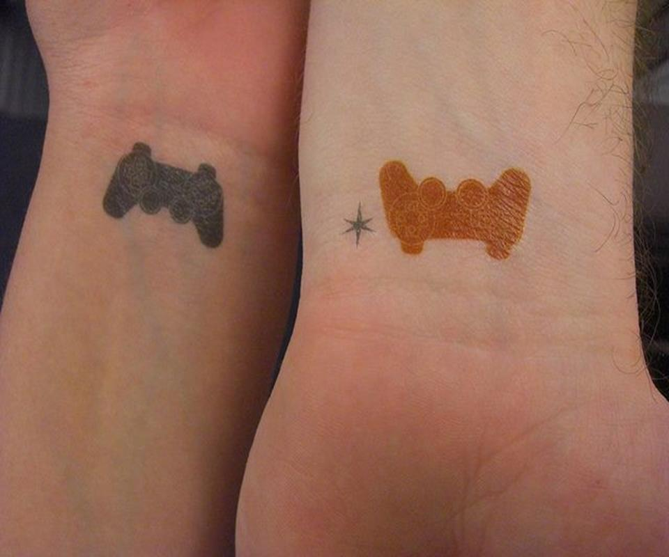55 cute couple tattoos ideas for Best couples tattoos
