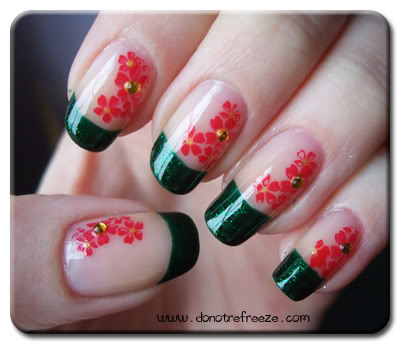 Nail art flower tutorial best nails 2018 45 very cute flower nail art ideas collection for s nail art tutorial prinsesfo Choice Image