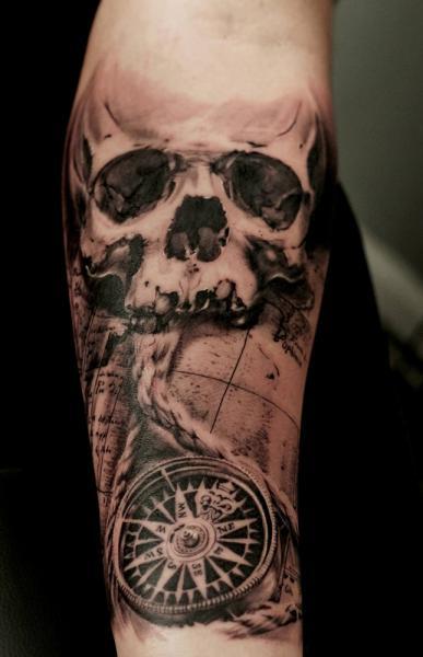 13 black and grey compass tattoos. Black Bedroom Furniture Sets. Home Design Ideas