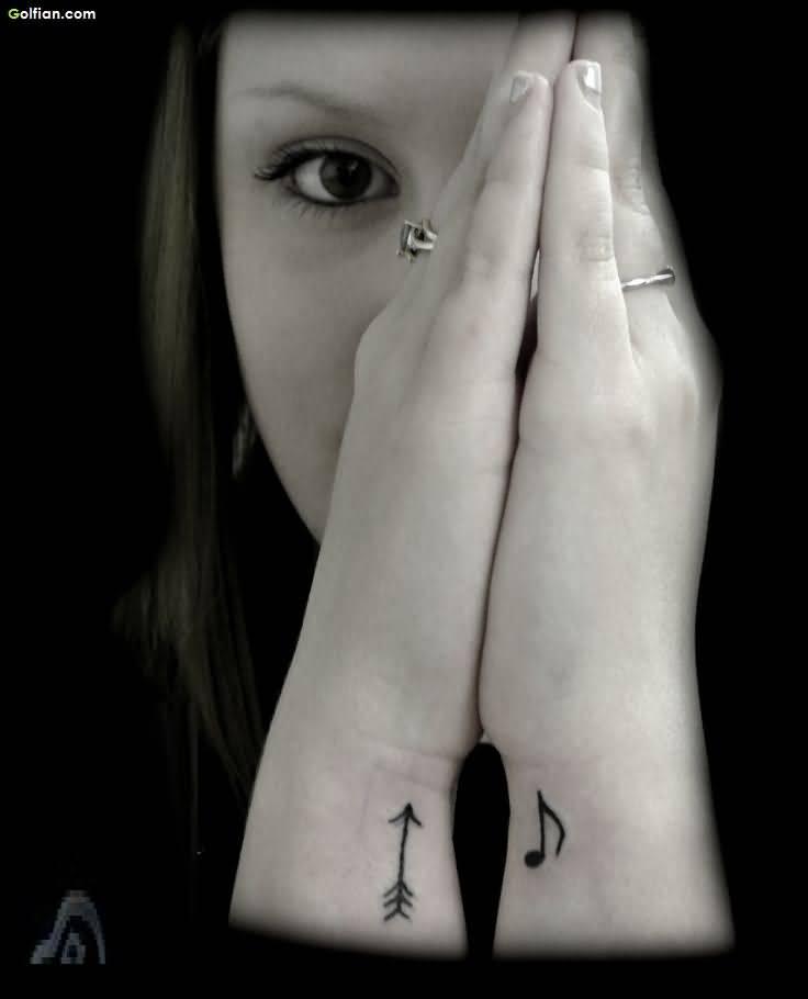 92+ Famous Arrow Tattoos On Wrist