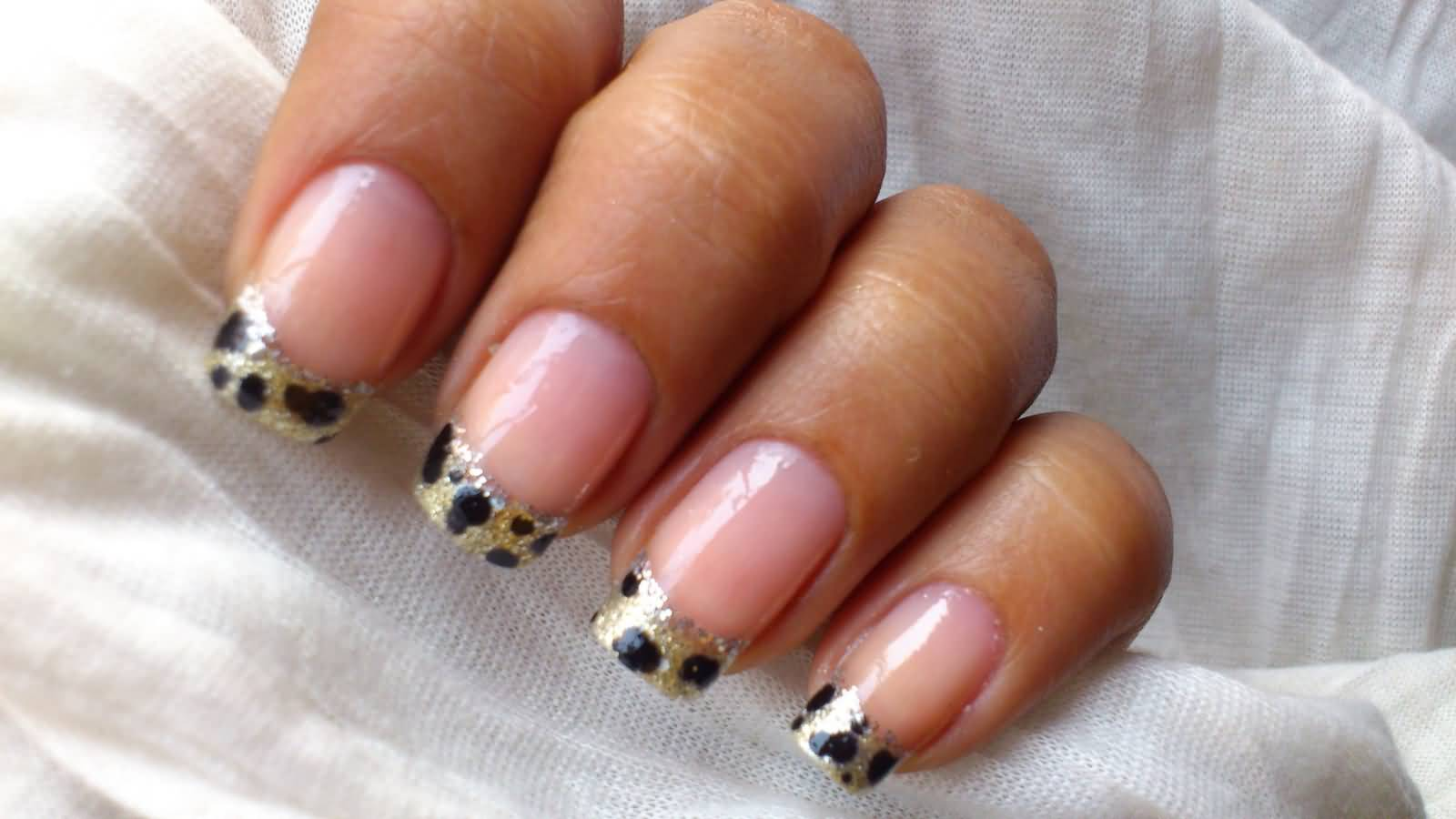 French Tip Nail Art Askideas