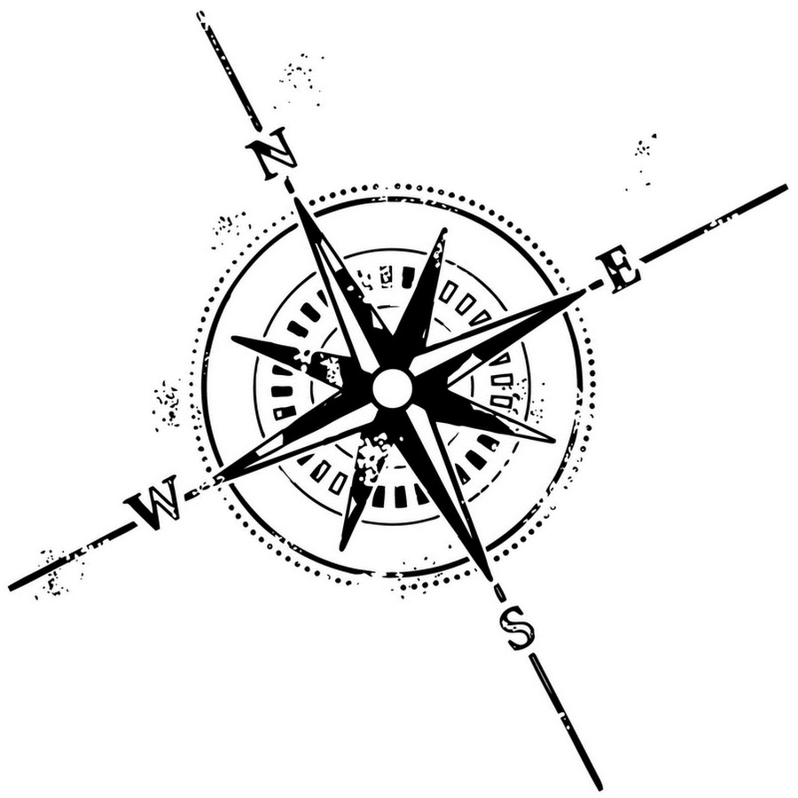Compass Tattoo Line Drawing : Latest compass tattoo designs