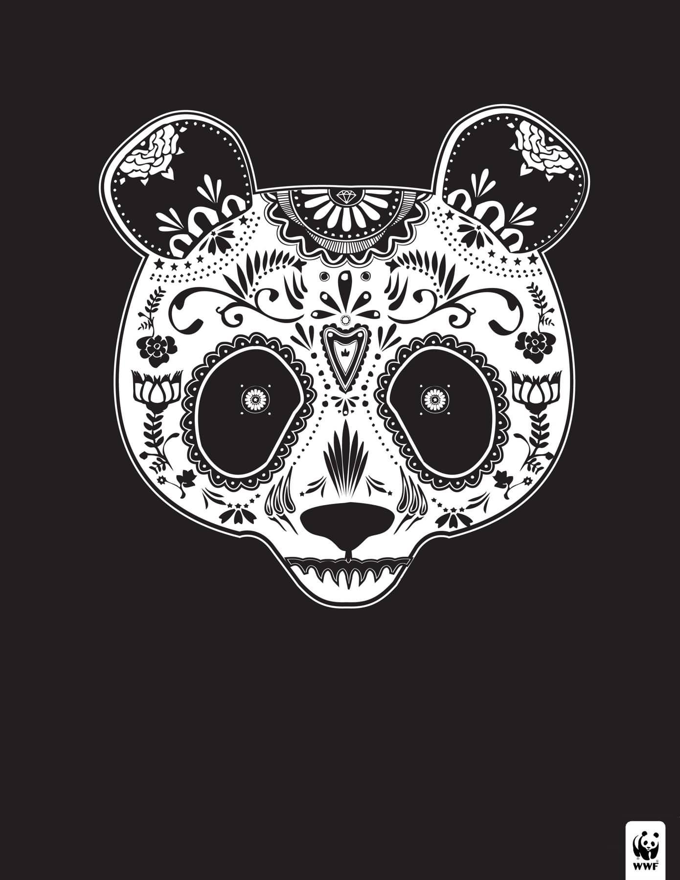 Animal sugar skull tattoo - photo#45