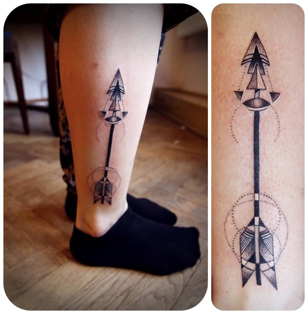 55 incredible arrow tattoos. Black Bedroom Furniture Sets. Home Design Ideas