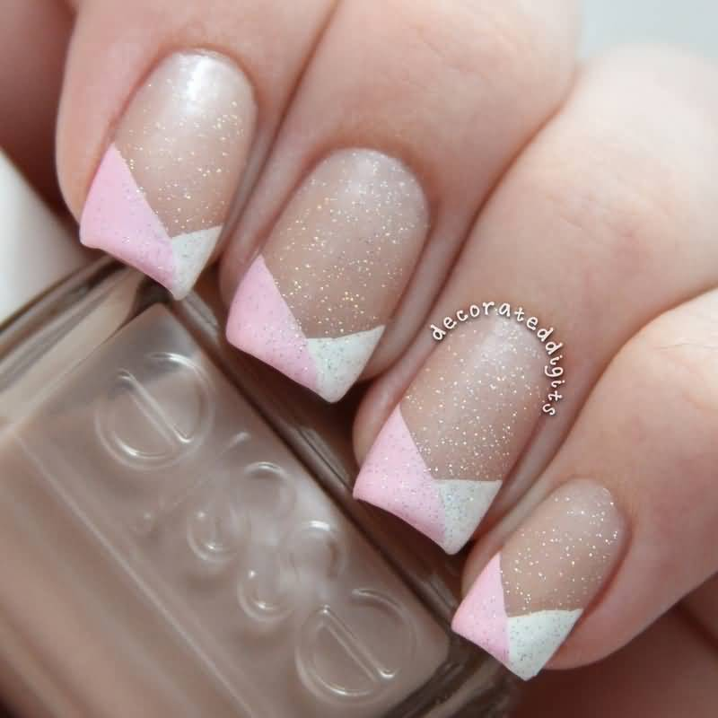50 Latest French Tip Nail Art Designs