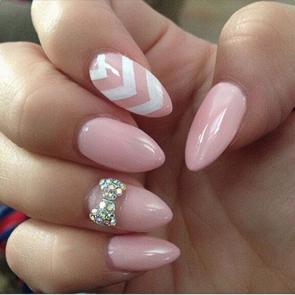 42 Beautiful Bow Nail Art Design Ideas For Girls