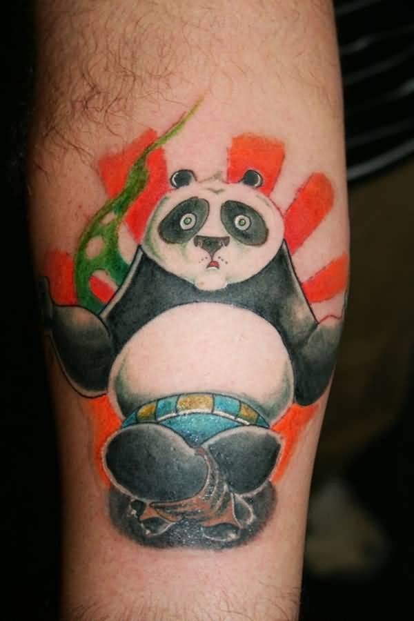 88 panda sleeve tattoos. Black Bedroom Furniture Sets. Home Design Ideas