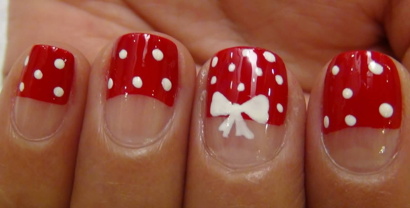 Cute Bow Nail Art The Best Inspiration For Design And Color Of The