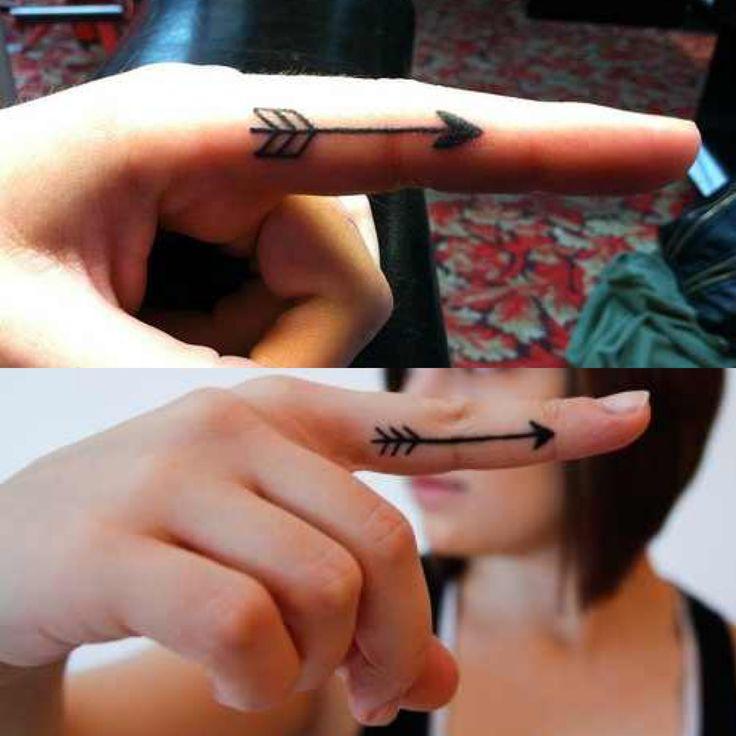 85 Cool Arrow Tattoos On Fingers