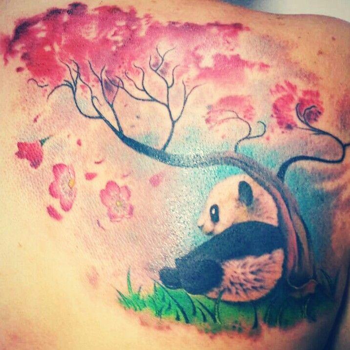 74 Wonderful Panda Tattoos