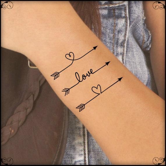 48 arrow tattoos on arm. Black Bedroom Furniture Sets. Home Design Ideas