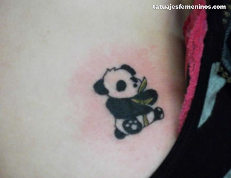 69 panda bamboo tattoos for Baby panda tattoo