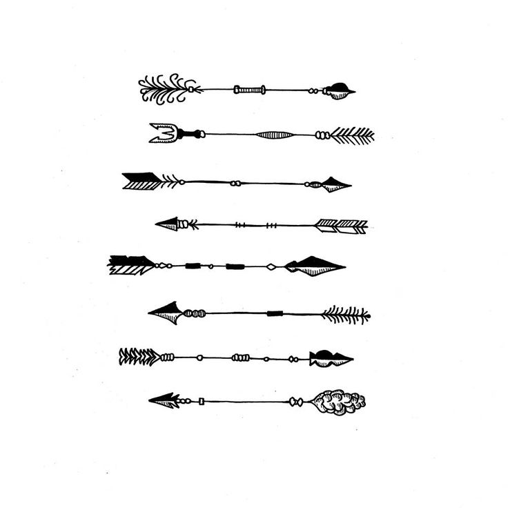 45 arrow tattoo designs for Minimal art betekenis