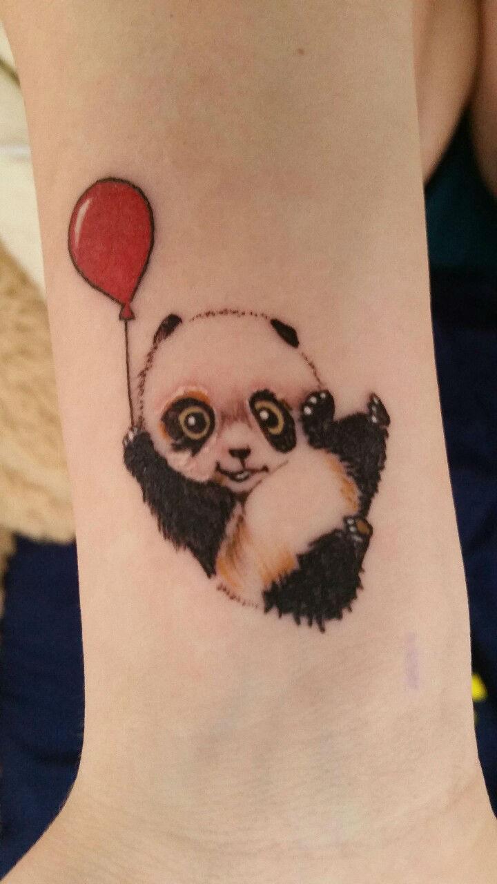 8 Wrist Panda Tattoos