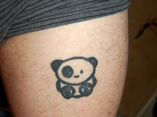 74+ Wonderful Panda Tattoos