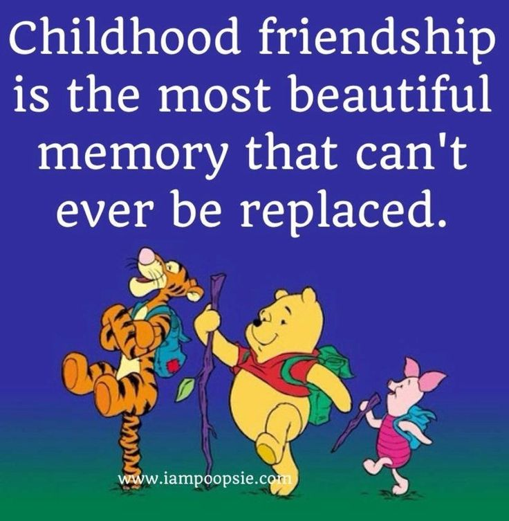 Most Beautiful Friendship Images: 54+ Best Childhood Quotes & Sayings