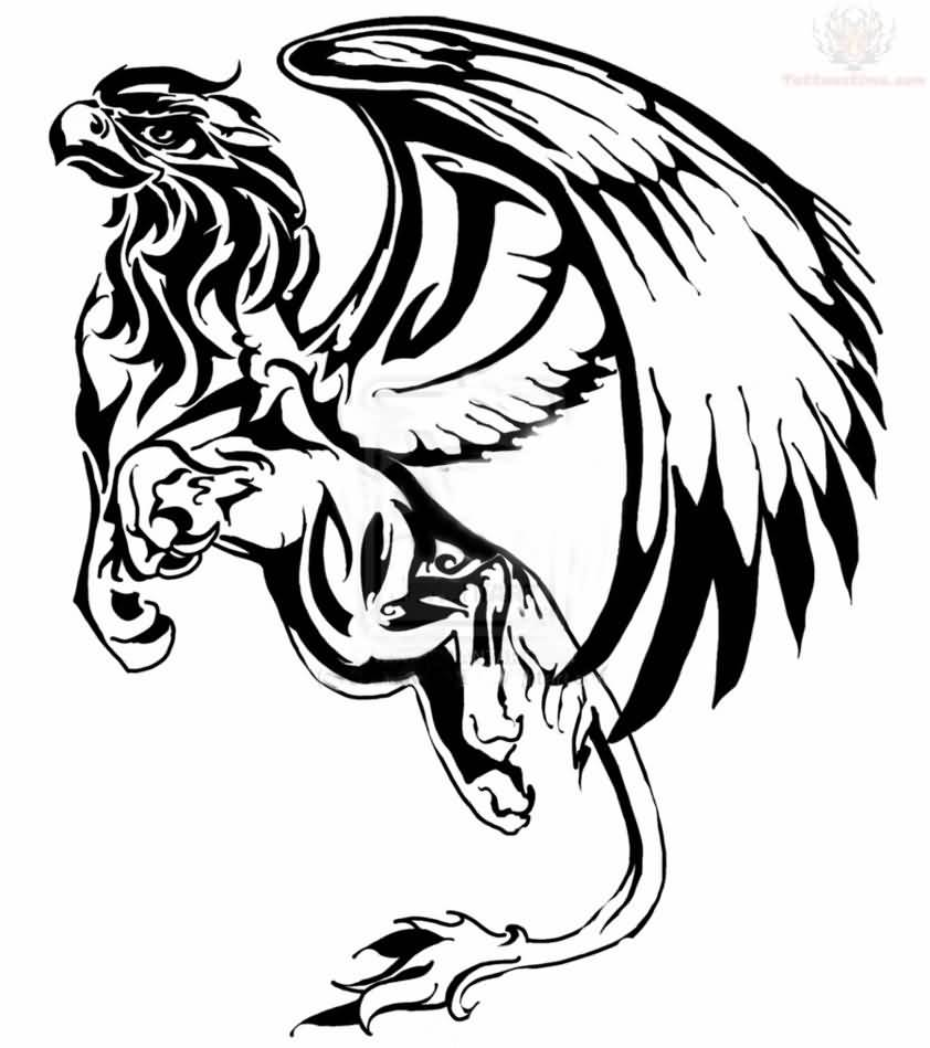 22 tribal griffin tattoos ideas for The griffin