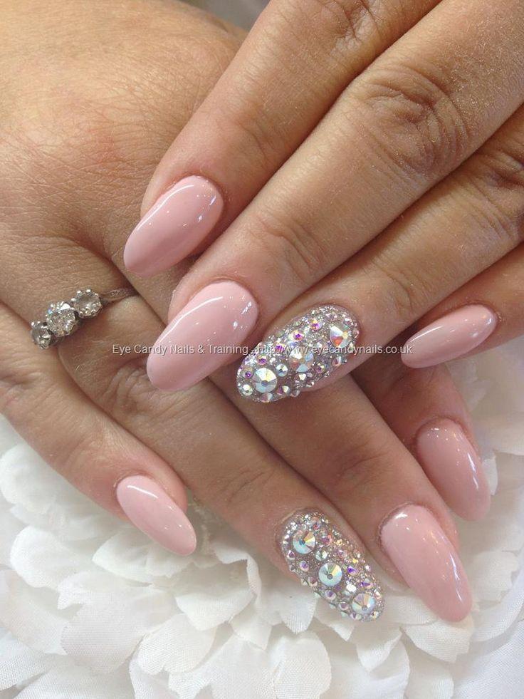 Glitter Hot Pink And Silver Acrylic Nails Nail And Manicure Trends Silver acrylic nails soft pink nails pink wedding nails silver glitter nails burgundy nails gold nails. glitter hot pink and silver acrylic