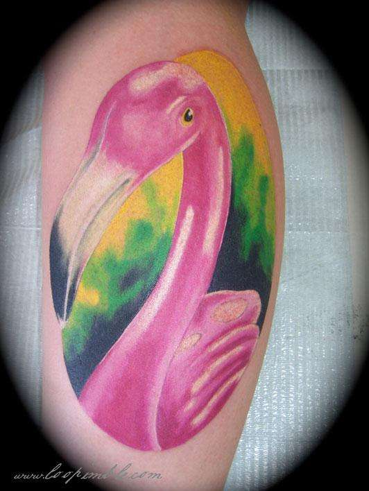 55 nice flamingo tattoos ideas