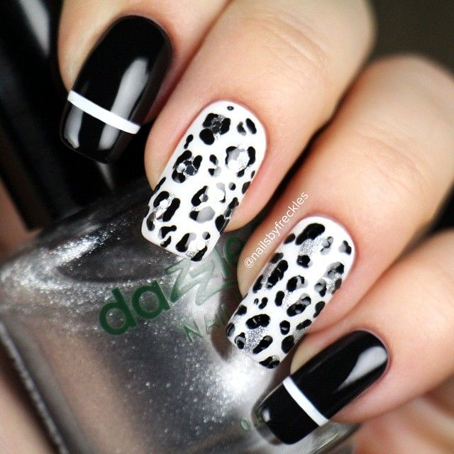 55+ Latest Leopard Print Nail Art Design Ideas For Trendy ...