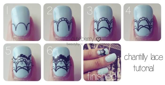 How To Do Lace Nail Art Choice Image And Design Ideas