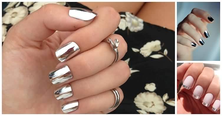 55 most amazing metallic nail art design ideas cute metallic nail art design idea prinsesfo Images