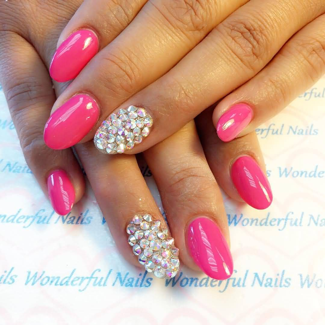 Best Acrylic Nail Art Design: 60 Best Pink Acrylic Nail Art Designs